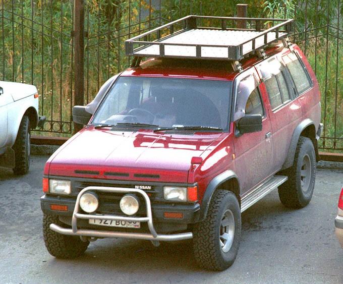 Экспедиционный багажник на ниссан террано