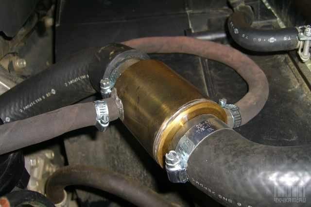 Подогреватель двигателя и топлива своими руками