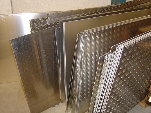 Изделия из листового алюминия